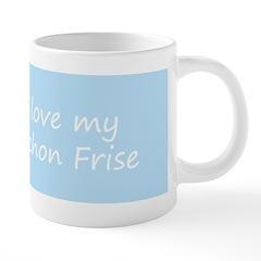 Bichon Frise 20 oz Ceramic Mega Mug