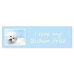 Bichon Frise Sticker (Bumper 50 pk)