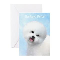 Bichon Frise Greeting Cards (Pk of 20)