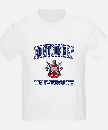 MONTGOMERY University Kids T-Shirt