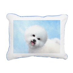 Bichon Frise Rectangular Canvas Pillow