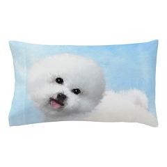 Bichon Frise Pillow Case