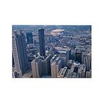 Atlanta Rectangle Magnet (10 pack)