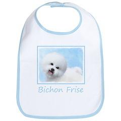 Bichon Frise Cotton Baby Bib
