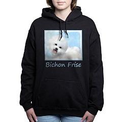 Bichon Frise Women's Hooded Sweatshirt