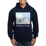 Bichon Frise Hoodie (dark)