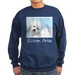 Bichon Frise Sweatshirt (dark)
