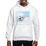 Bichon Frise Hooded Sweatshirt