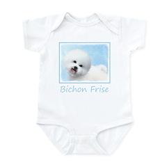 Bichon Frise Baby Light Bodysuit