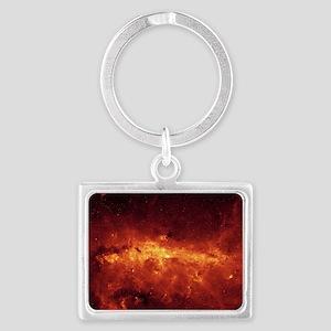 Deep Space Landscape Keychain