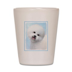 Bichon Frise Shot Glass