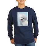 Bichon Frise Long Sleeve Dark T-Shirt