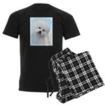 Bichon Frise Men's Dark Pajamas