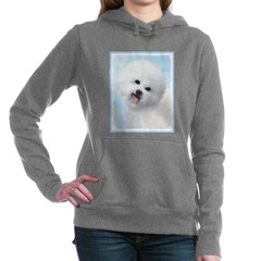 Bichon Frise Women's Hooded Sweatshirt