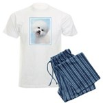 Bichon Frise Men's Light Pajamas