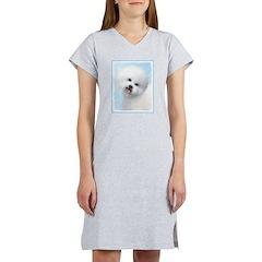 Bichon Frise Women's Nightshirt