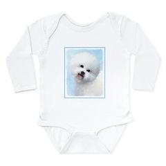 Bichon Frise Long Sleeve Infant Bodysuit