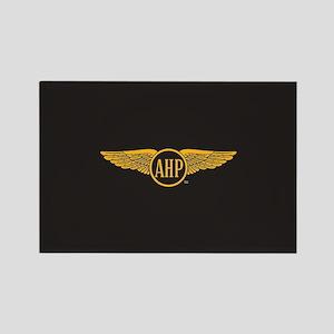 Alpha Eta Rho Wings Rectangle Magnet