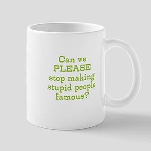 Stupid People Boycott Mugs