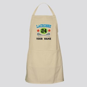 Lacrosse Player Personalized Apron