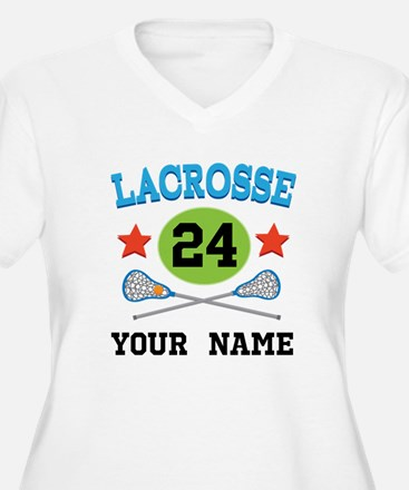 Lacrosse Player Personalized T-Shirt