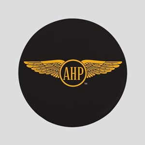 Alpha Eta Rho Wings Button