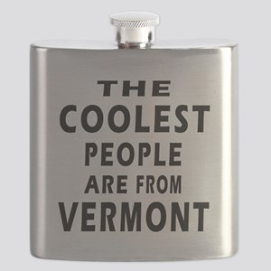 The Coolest People Are From Vermont Flask