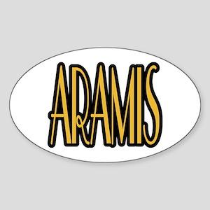 Aramis Sticker (Oval)