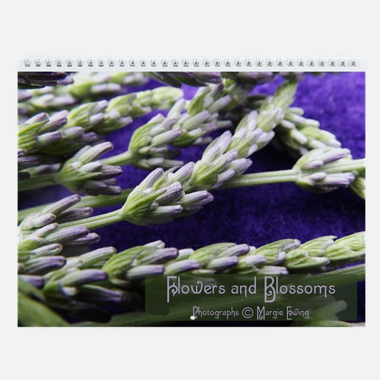 Flowers And Blossoms Wall Calendar