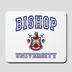 BISHOP University Mousepad