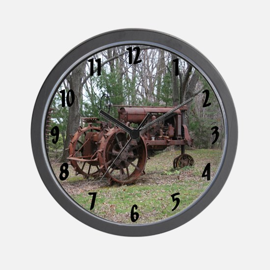 Out to Pasture Wall Clock