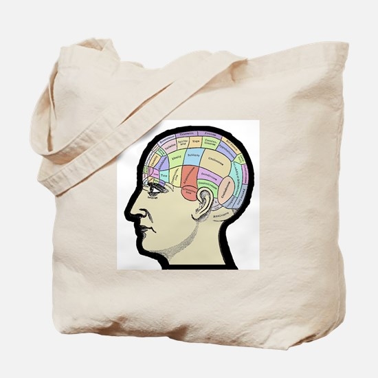 Phrenology - Head Bumps Study Tote Bag