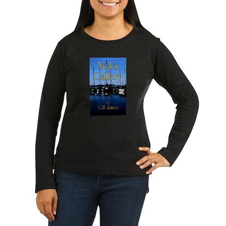 Nick's Gallery Women's Long Sleeve Dark T-Shirt