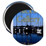 "Nick's Gallery 2.25"" Magnet (100 pack)"
