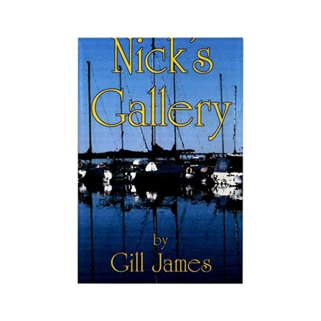 Nick's Gallery Rectangle Magnet