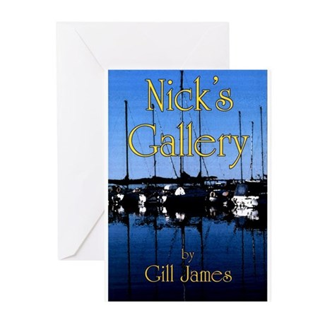 Nick's Gallery Greeting Cards (Pk of 10)