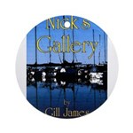 Nick's Gallery Ornament (Round)