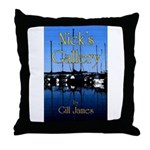 Nick's Gallery Throw Pillow
