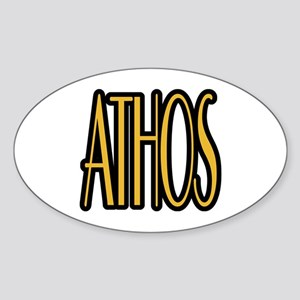 Athos Sticker (Oval)