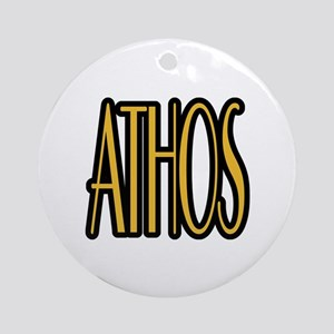 Athos Ornament (Round)
