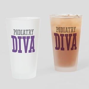 Podiatry DIVA Drinking Glass