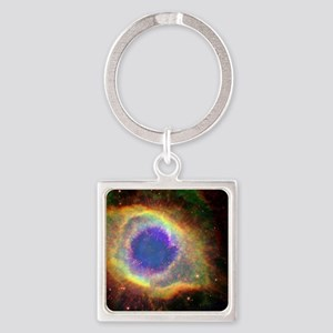 Cosmic Square Keychain