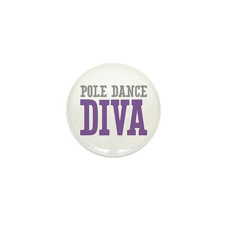 Pole Dance DIVA Mini Button (10 pack)