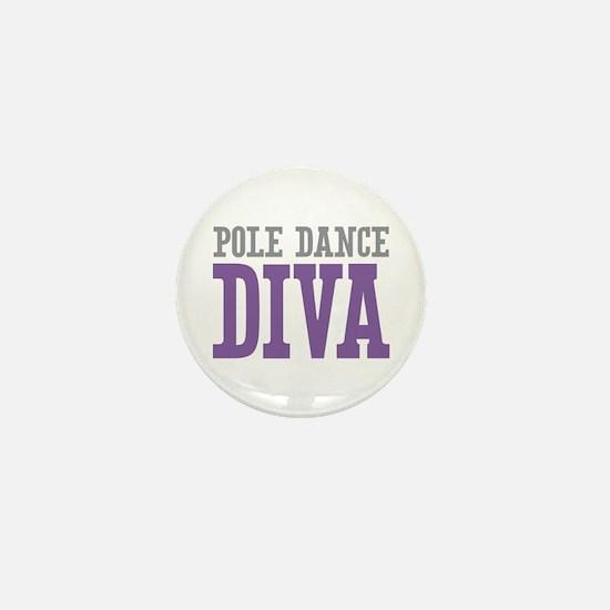 Pole Dance DIVA Mini Button