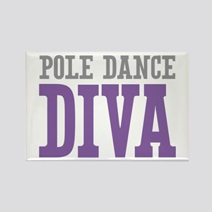 Pole Dance DIVA Rectangle Magnet