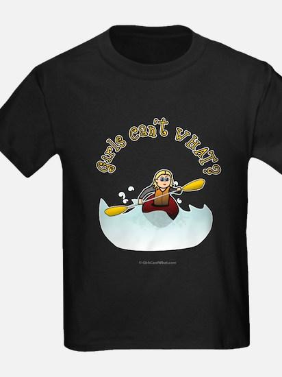 Blonde Kayaking T-Shirt