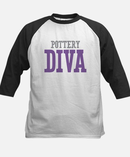 Pottery DIVA Kids Baseball Jersey