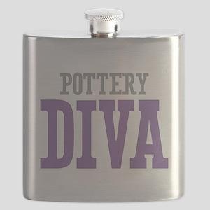 Pottery DIVA Flask