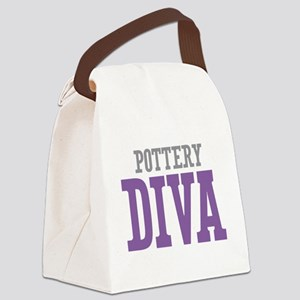 Pottery DIVA Canvas Lunch Bag