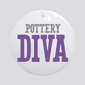 Pottery DIVA Ornament (Round)